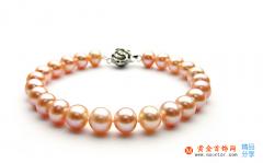 粉色珍珠价格 粉色珍珠项链价格 粉色珍珠手链
